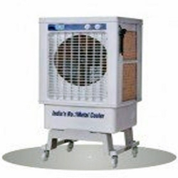 67 LTR - Desert Cooler - Air Cooler - 300Sft - With Trolly - White Color