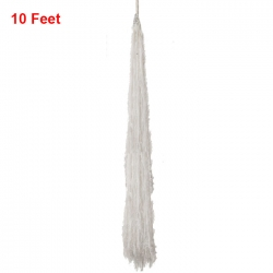 10 FT Hanging Fur - Lout-con - Wall Hanging - Sparkled Fur - White Color