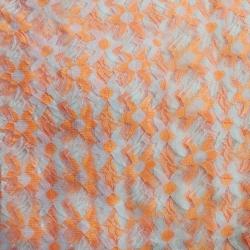 Russel Net - 5 Feet Panna - Floral Net - Event Cloth - Double Color Cloth - Multi Color