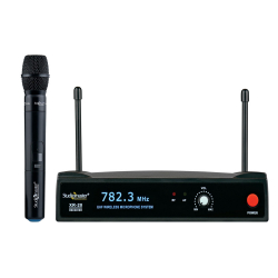 Studiomaster - XR 20 H Wireless Microphone - Black Color
