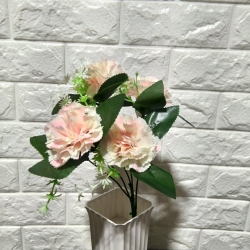 13 Inch Artificial Flower Bunches - Fake Flowers Artificial Bunch - Decoration - Multi Color