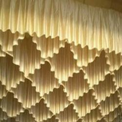 15 Ft X 15 Ft - Designer Mandap Ceiling Cloth - Shamiyana Ceiling -Taiwan Top - 26 Gauge Bright Lycra Cloth