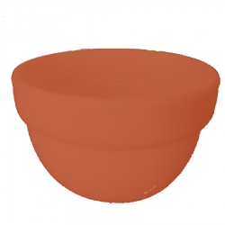 3 Inch Round Bowl - Wati - Katori - Curry Bowls Made Of Food Grade Virgin Plastic - Brown Color
