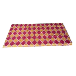 2.5 FT X 6 FT Gadi Cover - Mattress Cover - Single Bed Cover - Made Of Crash Cloth - Multi Color