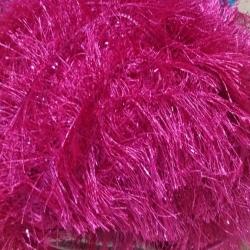 Decoration Sparkled Fur - Pink Color
