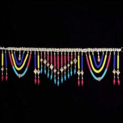 3 FT - Toran - Moti Jhalar - Made Of Plastic - Multi Color