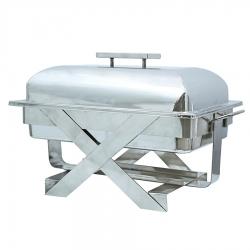 10 LTR - Chafing Dish - Hot Pot Dish - Garam Set - Buffet Set - Made Of Stainless Steel