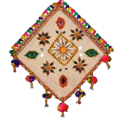 8 INCH X 8 INCH - Jhumar - Wall Hanging - Kite Decorative Jhumar - Multi Color