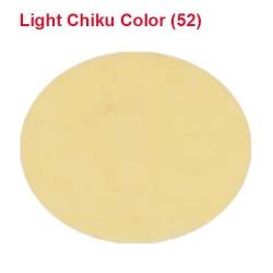 Micro Janta Quality - 39 Inch Panna - 5.7 KG Quality - Light Chiku Color