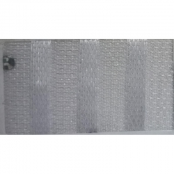 Kangaro Patta Tilkli Work Cloth - 54 Inch Panna - 8.5 Meter - Super White Color