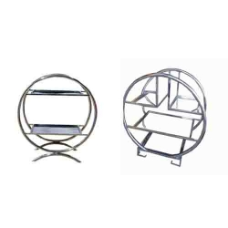 Salad Stand - Two Tier Salad Stand - Four Tier Ring Shape Salad Stand - Spoon Stand - Made of Stainless Steel.
