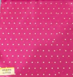 Korean Open Glitter - 24 Gauge Brite Lycra - 54 Inch Panna - Tikli Work - Dark Peach  Color