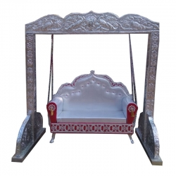 Palna - Jhula - Baby Swing - Name Ceremony - Made of Metal - Multi Color