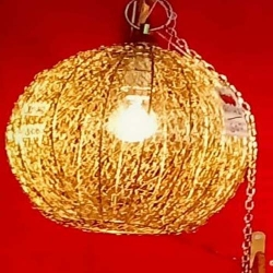 12 Inch - Decorative Lanterns - Hanging Lanterns - Khandil - Made of Iron - Weight 600 GM