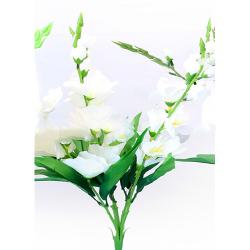 Height 24 Inch - Glad Bunch X 5 - AF- 211 - Leaf Bunch - White Color