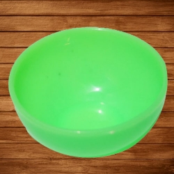 3 Inch Straight Katori - Bowl - Wati - Curry Bowls - Dessert Bowls - Made Of Food Grade Regular Plastic - Green Color