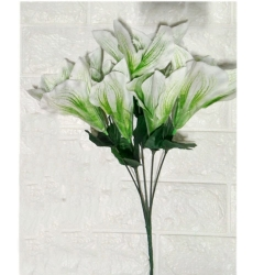13 Inch - Artificial Flower Bunches - Fake Flowers Bunch for Wedding - Reception