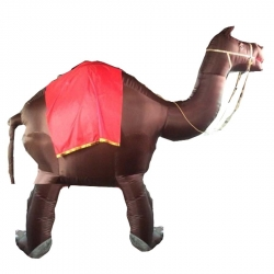 Camel - Inflatable - Air Blown Inflatable - Made Of PVC Vinyl Comes With a Blower Machine
