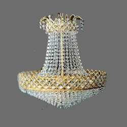 2 FT - Jhumar - Fancy Jhumar - Hanging Jhumar - Silver & Gold Color