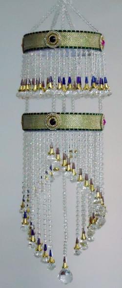 Artificial Beads Jhumar - Hanging Jhumar - Motii Jhumar - Multi Color