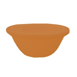 Small Katori - Curry or Soup or Dessert or Chatni  Bowls Made Of Food-Grade Virgin Plastic - Brown Color