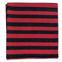 8 FT X 10 FT - Regular Quality - Dari - Dhurrie - Rugs - Satranji - Floor Mat - Red & Black color - Weight - 3 Kg