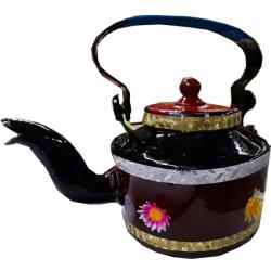 9 Inch X 7 Inch - Aluminum - Tea Kettle - Jug - Pot - Tea Pot - Multi Color