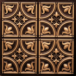 2 FT X 2 FT - Wedding Decorative Panel - Background Pannel - Made Of PVC - Brown Color