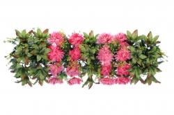 2.5 FT - Plastic Artificial Flower Panel - Flower Carry - Flower Decoration - MultiColor