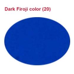Micro Janta Quality - 39 Inch Panna - 5.7 KG Quality - Dark Firoji Color