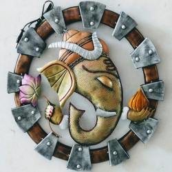 15 INCH - Wall  Ganesh LED - Home Decor and Gift Purpose.