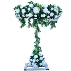 4 FT - Artificial Flower Stand - Flower Plant With Stand - Flower Decoration -  Multi Color