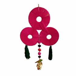 8 INCH - Jhumar - Parrot Hanger - Wall Hanging - Door Jhumar - Multi Color
