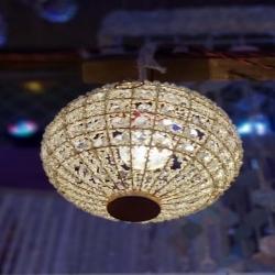 12 Inch - Decorative Lanterns - Hanging Lanterns - Khandil - Made of Iron - 2 KG