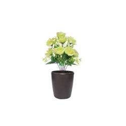 1.2 FT - Artificial Flower Bunches - Fake Flowers Artificial Plant without Pot  - Parrot Color
