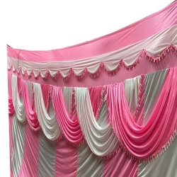 11 FT X 15 FT - Parda - Curtain - Stage Parda - Wedding Curtain - Mandap Parda - Made of Brite Lycra