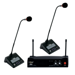 Studiomaster - XR 40 CC Wireless Microphone - Black Color