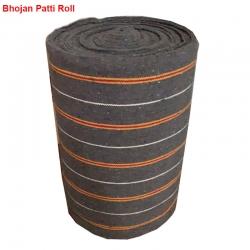 1.5 FT X 200 FT - Grey Color - Cotton Patti - Bhojan Patti - Taat Patti - Weight - 12 Kg