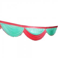 10 FT - Jhalar - Mandap Jhalar For Wedding & Party - Made Of Heavy Brite Lycra Cloth