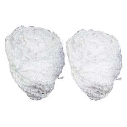 Decoration Plain Fur -  White Color