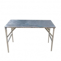 22 Inch  X 46 Inch - Rectangle Table -Catering Table - Made Of Steel - Weight - 18 Kg