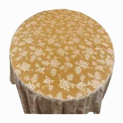 4 FT X 4 FT - Round Table Cover - Made Of Premium Quality Brite Lycra