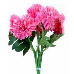 Height 11 Inch - Pot Bunch - AF-149 - Leaf Bunch - Pink Color