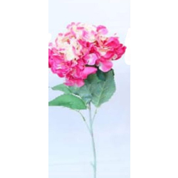 Height - 34 Inch - Hydrengea Flower Stick - Artificial Stick - AF- 305 - Stick - Light Pink Color