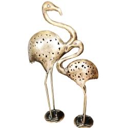 Fancy Duck - Center Table Showpieces - Golden Color ( Set of 2)