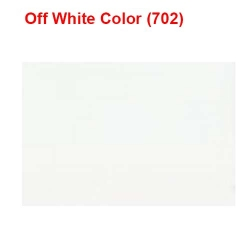 14 KG Taiwan / Off White Color / 60 Inch Panna - Length / Calander Quality.