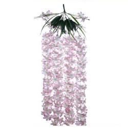 Height - 36 Inch - Chameli Hanging - Latkan - Flower Decoration - Artificial Hanging - AF 522 - Multi Color