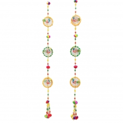 2 FT - Artificial Ladi - Door Latkan - Hanging Latkan - Multi Color