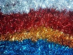 Artificial Lout-Con - Jari - Chamkili - Decorative Latkan - Multi Color (Blue, Red, Golden, Silver)