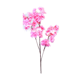 42 Inch - Heavy Blossom Artificial Flower Stick - Made Of Fabric & Plastic